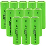 12PC AA Nimh Rechargeable Battery (1.2v 1200mAH) For Solar Lights