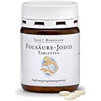 Sanct Bernhard Folsäure-Jodid-Tabletten mit Jodid, Folsäure, Inhalt 240 Tabletten preisvergleich bei billige-tabletten.eu