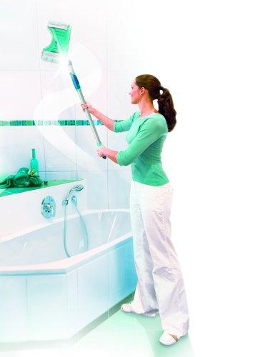 Leifheit Flexipad - Funda de Recambio para mopa para Azulejos de Microfibra, 24x12x2 cm, Color Blanc