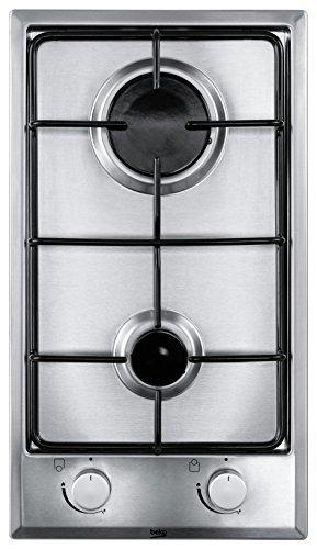 Beko HDCG 32220 FX Gas-Kochfeld / Breite: 28.8 cm / Gassicherung / emaillierte Topfträger