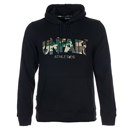 UNFAIR ATHLETICS Herren Oberteile/Hoody Classic Label Schwarz S