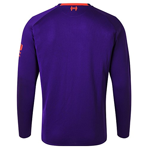 New Balance Liverpool FC Long Sleeve Mens Football Away Shirt 18 19 LFC Official