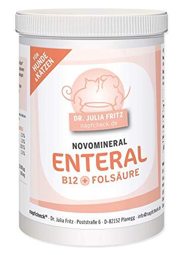 napfcheck Novomineral Enteral - Vitamin B12 und Folsäure für Hunde und Katzen - 150 g -