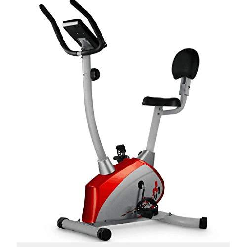 SZ-JSQC Home Premium Heimtrainer, Magnetic Resistance Heimtrainer Fitness Cardio Workout mit einstellbarem Widerstand, Zwei-Wege-Schwungrad
