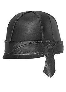 Epic Armoury- Warrior Helmet-Black-L Casco, Color negro, Large (Iron Fortress 100103L)