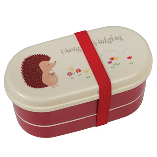 dotcomgiftshop Children's Bento Box - Honey the Hedgehog by dotcomgiftshop