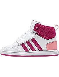 adidas Vlneo Hoops CMF Mid Inf, Girls' Low-Top Sneakers