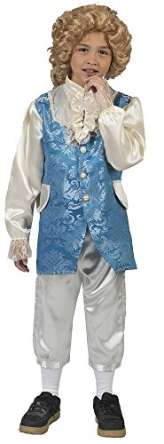 Barock Kostüm Johannes mit Weste für Jungen Gr. ()