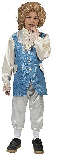 Barock Kostüm Johannes mit Weste für Jungen Gr. (Theater Barock Kostüme)