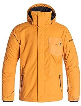 Quiksilver Mission Plain M SNJT - Chaqueta de invierno, color naranja