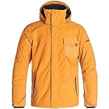 Quiksilver Mission Plain M SNJT - Chaqueta de invierno, color naranja, talla XL
