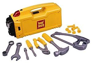 Red Box 65085  - Caja de herramientas de juguete con linterna Importado de Alemania