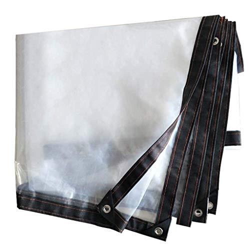 copertura per auto esterna, clear copertura finestra in plastica per l'inverno, teloni accessori da campeggio leggeri,2x7m