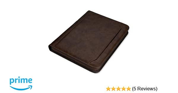 Spicers Conference 25mm Marble Effect Ring Binder With A4 Calculator Writing Pad Brown