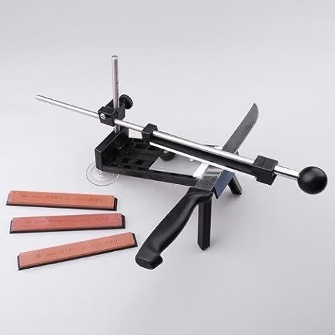 Küchenmesser Festwinkelschleifstein mit 4 Stein Professionelle Sharpener Scissor