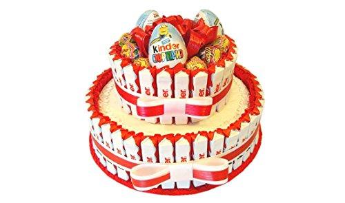 IRPot - Torta barrette Kinder e Ovetti Kinder sorpresa - kit fai da te KITK08