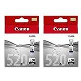 Canon Original PGI-520BK Twin Pack Black