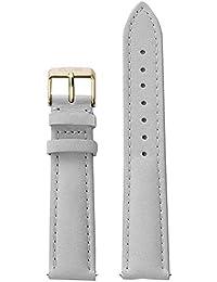 Cluse Damen Uhrenarmband Leder La Bohème grau/goldfarben CLS029