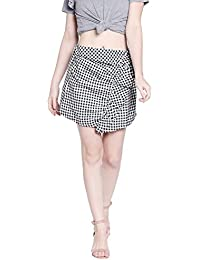 Globus Checkered Mini Skirt