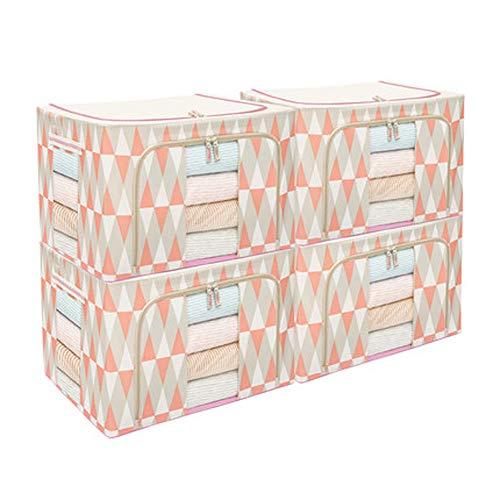3-teiliges Leder-bett (Oxford Stoff-Aufbewahrungsbox, 4-teilig, Stoff Kleidung, Aufbewahrungsbox, Kleidung, Aufbewahrungsbox, Umzug, 3, Größe)