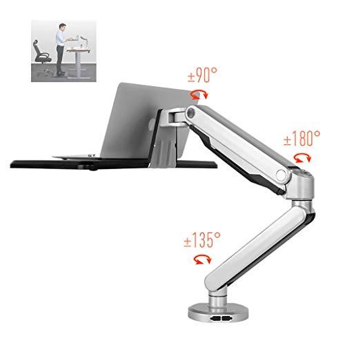 Laptop-Ständer , Stehende Halterung Sit Stand Arm Workstation , Laptop-Ständer For 10