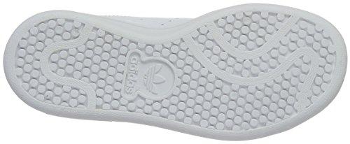 adidas Stan Smith C, Basket mixte enfant Blanc (Ftwwht/ftwwht/bopink)
