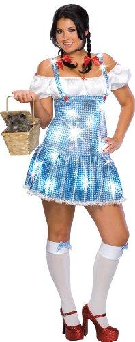 (Dorothy 'Der Zauberer von Oz' Kostüm für Damen Gr. XL, Größe:XL)