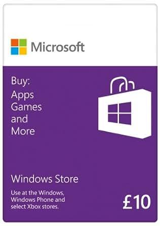 Microsoft £10 Gift Card: Windows Branded [Online Code]