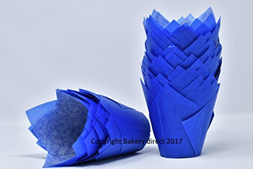 Bakery direct Ltd 200 Blau Tulip Muffin Wraps Fällen kostenlosen -