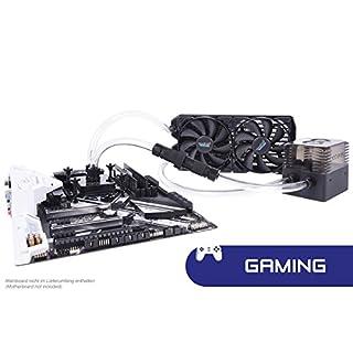 Alphacool 11466 Eissturm Gaming Copper 30 2x120mm - Komplettset Wasserkühlung Sets und Systeme