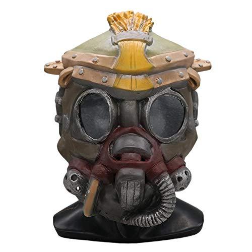 Rcraftn Latexmaske für Apex Hero Bloodhound Bloodhound Mask Game Gleiche Kopfbedeckung für ()
