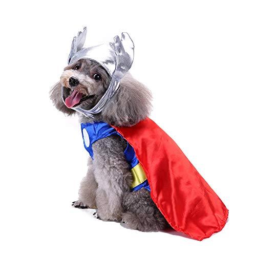 Dragon868 Pet Kleidung Mode Halloween Polyester KostüM Pet Dress Up ()