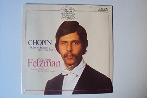 Klavierkonzert Nr. 1 op. 11. Wladimir Felzman, Boris Khaikin. Stereo
