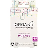 Organii Organic Vegan Cotton Patches Mixed Sizes 45pcs preisvergleich bei billige-tabletten.eu