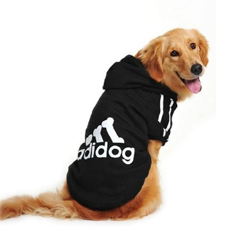 Evergreens Hundepullover, Baumwolle, für große Hunde schwarz 9XL