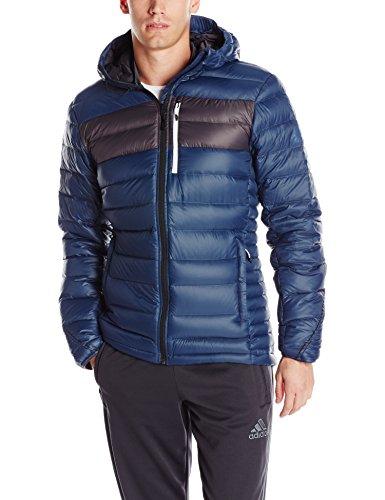 Adidas Outdoor Herren Climaheat Frost Kapuzenjacke Mineral Blue/Utility Black