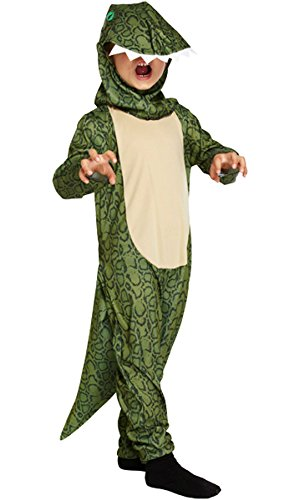 Islander Fashions Kinder Dinosaurier Godzilla Dress Up Kost�m Jungen Kost�mbuch Woche Party Monster Outfit klein (4-6 Jahre)