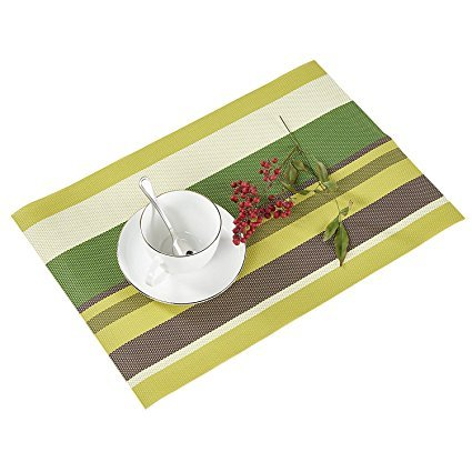 Alicemall Sets de Table Lot de 4 Napperons pour la