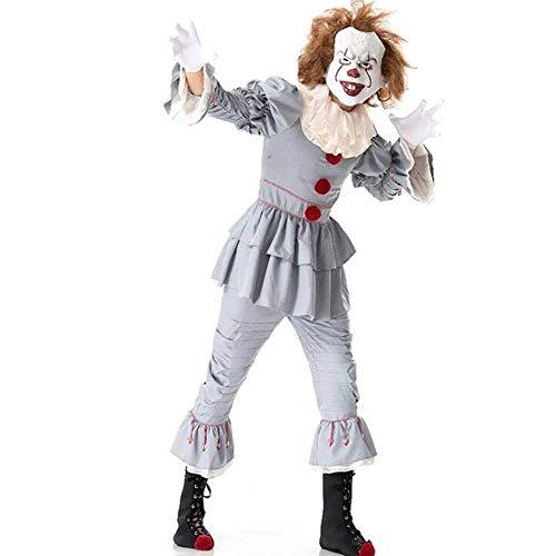 QWE Halloween Clown Hall Cosplay Kostüm Cosplay Bühnenkostüm Kostüm für Erwachsene