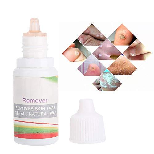 Etiqueta para la piel Líquido para remover las verrugas plantares Hidratante nutritiva para un cutis saludable Fórmula para la piel Etiqueta para el cuerpo plano Verrugas en las manos Dedos o pies en