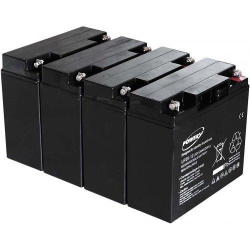 Batteria Powery al Gel di piombo per: UPS APC Smart-UPS 2200 20Ah (sostituisce anche 18Ah)
