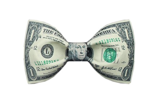Design Tie Haut Luxe Noeud Papillon Avec Le Dollar Printing Bow