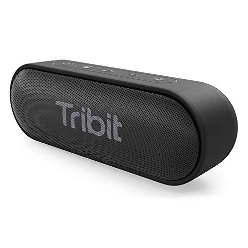 Casse Bluetooth, Tribit Altoparlante Bluetooth Impermeabile IPX7 cassa usb portatile con Basso+ Esclusivo 20 Ore Gioco speaker radio portatili per Giardino, Festa, Auto, Viaggio, Spiaggia