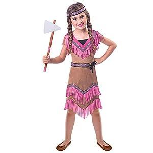 Amscan International- Native American 6-8 Years Disfraz, Color (9904492)