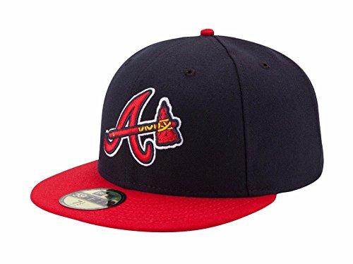 New Era MLB Alternate Authentic Collection On Field 59FIFTY Fitted Cap, Damen Herren, Atlanta Braves, 7 1/8