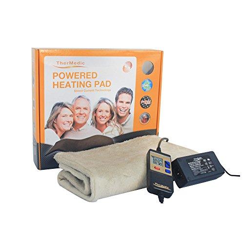 Infrarot-Wärme Heizkissen - bekämpft Rücken- oder Kreuzschmerzen , Nackenschmerzen, chronischen Schulterschmerzen usw.. (30x60cm, Wärmetherapie / Infrarot-Bestrahlungen / Physiotherapie / Wärmedecke) - TherMedic DR3663