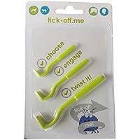 tick-off Tick Remover Twister para mascotas perros gatos caballos personas