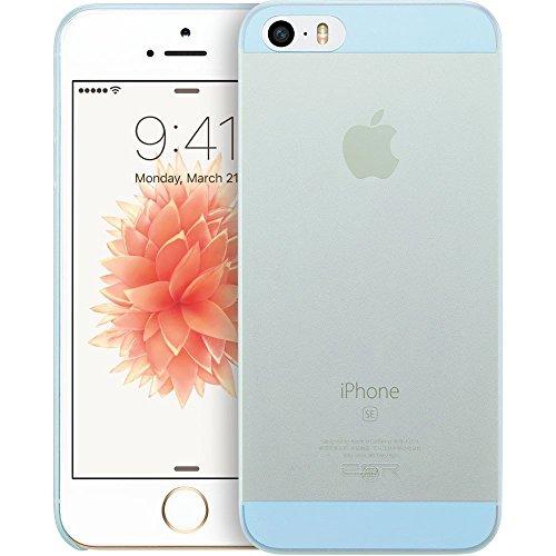 iPhone SE Hülle, ESR® [0.4mm Ultra Dünne] Lichtdurchlässig Polypropylen Schutzhülle für iPhone SE/5S/5/5C (Grün) Blau