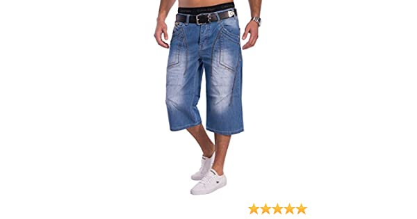 Herren Sommer Jeans Shorts CoolBlue 34 ID1308 Loose Fit