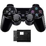 Doppio shock Controller di gioco wireless compatibile con PS1 / PS2 / PC / raspberry pi